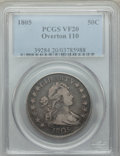 Early Half Dollars, 1805 50C O-110, T-6, R.5, VF20 PCGS. PCGS Population: (1/4). NGCCensus: (0/5). VF20. ...