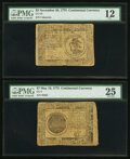 Colonial Notes:Continental Congress Issues, Continental Currency 1775. May 10, 1775 $7 PMG...