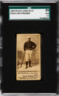 Baseball Cards:Singles (Pre-1930), 1887-90 N172 Old Judge Jim O'Rourke (#358-2) SGC 20 Fair 1.5. ...