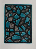 Prints & Multiples, Mark Tobey (1890-1976). Apparuit, 1971. Etching in colors on Rives BFK paper. 23-3/4 x 17 inches (60.3 x 43.2 cm) (image...