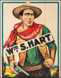 """Movie Posters:Western, William S. Hart Stock Poster (United Artists, R-1920s). Partial Stock Three Sheet (41.25"""" X 53""""). Western.. ..."""
