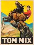 "Movie Posters:Western, Tom Mix (Fox, Late 1920s). Partial Stock Three Sheet (41.25"" X53.5""). Western.. ..."