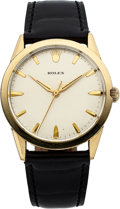 "Timepieces:Wristwatch, Rolex Automatic, 14k Gold Filled ""Presentation"" Watch, Circa 1960's. ..."