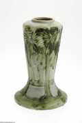 Ceramics & Porcelain, American:Modern  (1900 1949)  , An American Art Pottery Vase Roseville Pottery, c.1930 The widefoot tapering into the body then slightly flaring to fla...