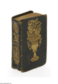 Decorative Arts, British:Other , A Leather Bound Miniature Book By the late Dr. Gregory ofEdinburgh, Scotland, c.1840 The title A FATHER'S LEGACY TO H...
