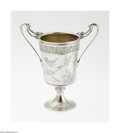 Silver Holloware, American:Cups, An American Silver Celery Vase Mark of Gorham, Providence, RI,c.1876 The raised celery vase engraved on the cylindrical...