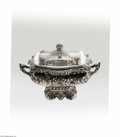Silver Holloware, American:Other , An American Silver Eglantine Soup Tureen Mark of Gorham,Providence, RI, c.1893 The rectangular form five-quart tureen, ...(2 Items)
