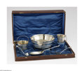 Silver & Vertu:Hollowware, An American 'Silver Ivy' Berry Set. Mark of Gorham, Providence, RI, c.1871. The set comprises a larger oval serving bowl r... (Total: 7 Items Item)