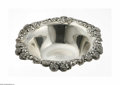 Silver Holloware, American:Bowls, An American Silver Fruit Bowl Mark of Tiffany & Co., New York,NY, c.1850 The bowl with applied clover and flowers to th...