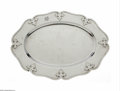 Silver & Vertu:Hollowware, An American Silver Tray. Mark of Shreve & Co., San Francisco, CA, c.1900. The strapped and hammered tray of the 'Fourteent... (Total: 1 Item Item)