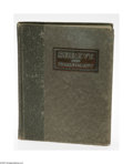 General Americana: , A Vintage American Silver Catalog Shreve & Co., San Francisco,CA, c.1911 The bound volume recording all gifts and acce... (1 )
