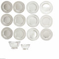 Silver Holloware, American:Plates, Twelve American Silver Plates and Two Revere Bowls Mark of A. G.Schultz & Co., Baltimore, MD; International Silver Co. Mer...(14 Items)