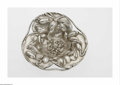 Silver Holloware, American:Bowls, An American Silver Flower Pattern Bowl Mark of The MauserManufacturing Co., New York, NY, c.1900 The repoussé floral pa...