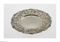 Silver Holloware, American:Plates, An American Silver Vermeil Charger Mark of Theodore B. Starr, NewYork, NY, c.1910 The gilt round solid center and broad...