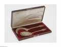 Silver Flatware, French:Flatware, A French Parcel Gilt Silver Ice Cream Set Maker unknown, NineteenthCentury The set comprising an ice cream slice and sc... (2 Items)