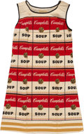 Fine Art - Work on Paper:Print, After Andy Warhol. The Souper Dress, (Limited Edition),1968. Screenprint in colors on cellulose and cotton. 38 x 22 inc...