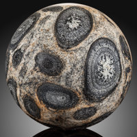 Orbicular Granite Sphere Stone Source: Mount Magnet, Western Australia