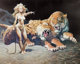 Frank Frazetta The Countess Signed Limited Edition Giclée Print #14/500 (c. 1980-90s)