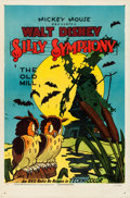 "Movie Posters:Animated, The Old Mill (RKO, R-1951). Silly Symphony One Sheet (27"" X 41"")....."