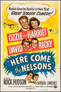 """Movie Posters:Comedy, Here Come the Nelsons (Universal International, 1952). One Sheet(27"""" X 41""""). Comedy.. ..."""