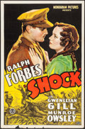 "Movie Posters:War, Shock (Monogram, 1934). One Sheet (27"" X 41""). War.. ..."