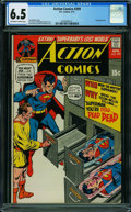 Bronze Age (1970-1979):Superhero, Action Comics #399 (DC, 1971) CGC FN+ 6.5 OFF-WHITE TO WHITE pages.