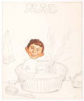 Original Comic Art:Miscellaneous, Antonio Prohias MAD Magazine Cover Concept Original Art (ECComics, c. 1960s)....