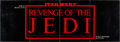 """Movie Posters:Science Fiction, Revenge of the Jedi (20th Century Fox, 1982). Promotional Foldout (15"""" X 44""""). Science Fiction.. ..."""