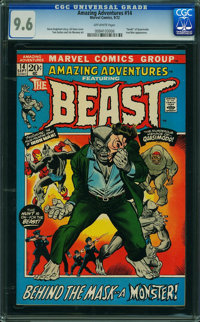 Amazing Adventures #14 (Marvel, 1972) CGC NM+ 9.6 Off-white pages