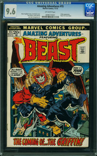 Amazing Adventures #15 (Marvel, 1972) CGC NM+ 9.6 Off-white pages