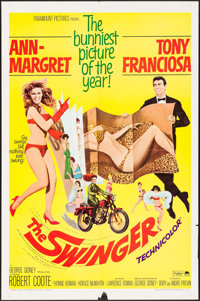 "The Swinger (Paramount, 1966). One Sheet (27"" X 41""). Comedy"