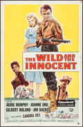 """Movie Posters:Western, The Wild and the Innocent (Universal International, 1959). One Sheet (27"""" X 41""""). Western.. ..."""