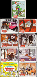 """Movie Posters:Animation, 101 Dalmatians (Buena Vista, 1961). Lobby Card Set of 9 (11"""" X14""""). Animation.. ... (Total: 9 Items)"""