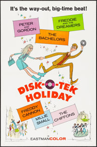 """Disk-O-Tek Holiday (Allied Artists, 1964). One Sheet (27"""" X 41""""). Rock and Roll"""
