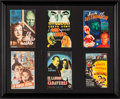 "Movie Posters:Horror, Abbott and Costello Meet Frankenstein & Others Lot (Boga Films, 1948). Framed and Matted Spanish Herald Lot (Framed:16"" X 13..."