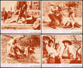 """Movie Posters:Crime, Bonnie and Clyde (Warner Brothers-Seven Arts, 1967). Lobby Cards(4) (11"""" X 14""""). Crime.. ... (Total: 4 Items)"""