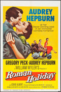 "Movie Posters:Romance, Roman Holiday (Paramount, R-1960). One Sheet (27"" X 41""). Romance....."