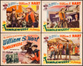 "Movie Posters:Western, Tumbleweeds (Astor Pictures, R-1939). Overall: Very Fine-. TitleLobby Card & Lobby Cards (3) (11"" X 14""). Western.. ... (Total:4 Items)"