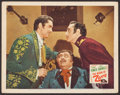 """Movie Posters:Swashbuckler, The Mark of Zorro (20th Century Fox, R-1946). Lobby Card (11"""" X 14""""). Swashbuckler.. ..."""