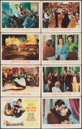 "Movie Posters:Academy Award Winners, Gone with the Wind (MGM, R-1961). Lobby Card Set of 8 (11"" X 14"").Academy Award Winners.. ... (Total: 8 Items)"