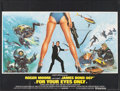 "Movie Posters:James Bond, For Your Eyes Only (United Artists, 1981). British Quad (30"" X 40""). James Bond.. ..."