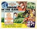 """Movie Posters:Musical, Singin' in the Rain (MGM, 1952). Half Sheet (22"""" X 28"""") Style B.. ..."""