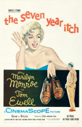 "Movie Posters:Comedy, The Seven Year Itch (20th Century Fox, 1955). One Sheet (27"" X 41"").. ..."