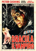 "Movie Posters:Horror, Horror of Dracula (Universal International, 1960). Italian 4 - Fogli (55"" X 77"").. ..."