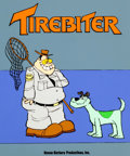 Animation Art:Presentation Cel, Tirebiter Unsold Series Pitch Cel (Hanna-Barbera, c.1970s-80s)....
