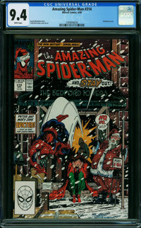 The Amazing Spider-Man #314 (Marvel, 1989) CGC NM 9.4 WHITE pages