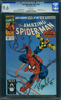 The Amazing Spider-Man #352 (Marvel, 1991) CGC NM+ 9.6 WHITE pages