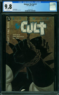 Batman: The Cult #2 (DC, 1988) CGC NM/MT 9.8 WHITE pages