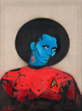 Movie/TV Memorabilia:Original Art, Star Trek - Nick Walker - Uhura...