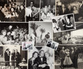 Movie/TV Memorabilia:Photos, A Frank Sinatra and Jimmy Van Heusen-Related Large Collection of Mostly Never-Before-Seen Black and White Photographs, 1940s-1...